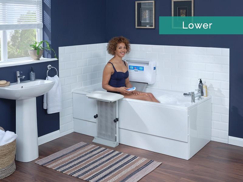 Lower Into Bath