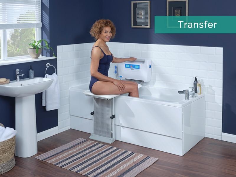 Transfer To Bath Seat
