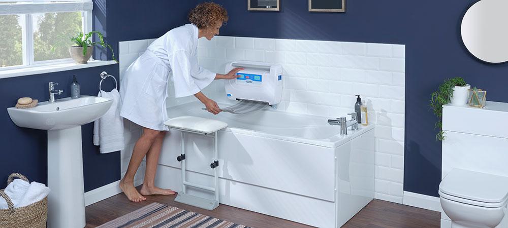 benefits of a battery powered bath lift